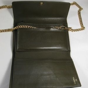 CHANEL Bags - Rare CHANEL Leather Wallet Clutch-Cross Body Bag